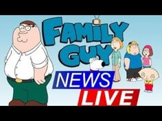 Family Guy Full Episodes - 24/7 Live Family News, Family Guy, Full Episodes, Youtube, Fictional Characters, Live, Food, Eten, Fantasy Characters