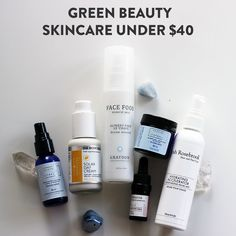 #skincare #greenbeauty #wellness #health Water Flowers, Facial Cleanser, Makeup Remover, Smudging, Mists, Essential Oils, Skin Care, Green, Healing