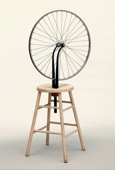 Marcel Duchamp, Bicycle Wheel, 1913 French, Dada
