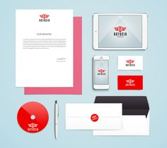 Graphic Design Stationary