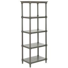 Safavieh American Home Collection Odessa Grey Bookcase