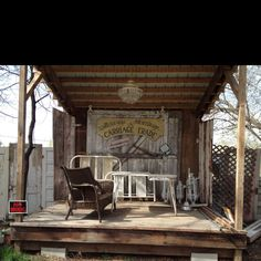 DIY stage for backyard...maybe not so rustic...but maybe so...