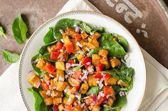 Ik ben gek op zoete aardappel! En in deze lauwwarme tandoori salade met kerriekruiden en komijn komt deze groente uitermate goed tot zijn recht. Deze salade smaakt heerlijk het hele [