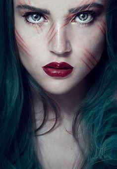 "Cristina Otero Photography  ""scarred.""  —- self-portrait"