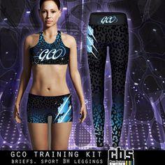 Training Kit, Cheer, Custom Design, Leggings, Bra, Sports, Fashion, Hs Sports, Moda