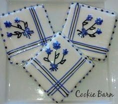 Flowered Hanky Cookies