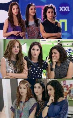 Naty,Francesca,Camila!✌💋#Violetta 1,2,3