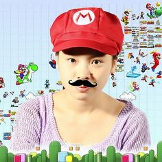 Celebrating Super Mario by l0ckergn0me