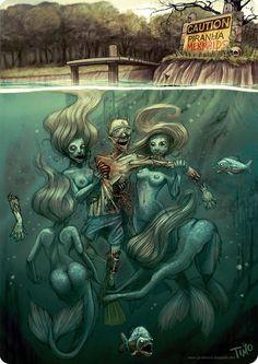 Zombie Mermaids!