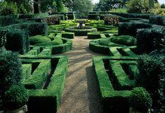 arabella lennox-boyd / parterre garden, ascott-house, buckinghamshire