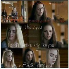 This is my favorite scene and amplifies hoe bad an actress Kriten is next to Girl playimg Rosalie