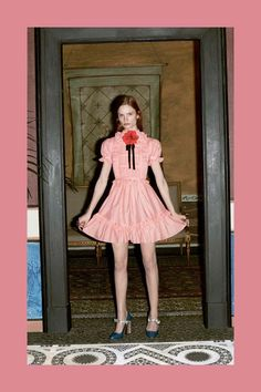 Gucci Pre-Fall 2016 Collection by Alessandro Michele.