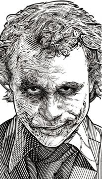 Que buena técnica / Wall Street Journal Hedcuts by Randy Glass