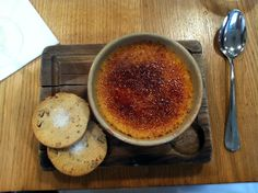 ... Make-up: Tom's Kitchen white chocolate and passion fruit creme brulee