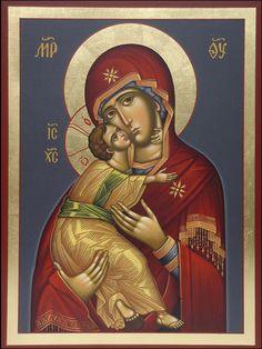 Virgin Mary by Geogi Nanava