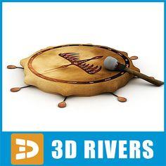 Shaman Tambourine 3D Model - 3D Model