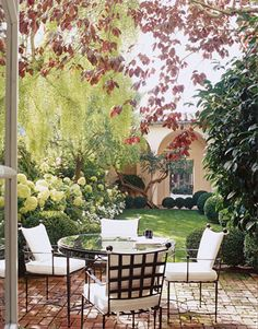 would like a patio like this to replace our deck...