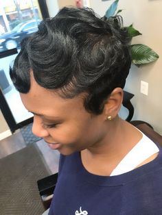 79 short bob hairstyles for the modern woman - Hairstyles Trends Short Sassy Hair, Cute Hairstyles For Short Hair, Short Hair Cuts, Curly Hair Styles, Natural Hair Styles, Black Hairstyles, Pixie Cuts, Pixie Styles, Short Pixie