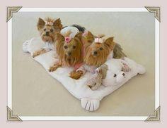 Millie LaRue & Company Puppy Love Blanket found on her website.