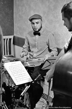 Saya quintet, live a Otivm lunch café, venerdì 13 novembre.  Scatto di Marino Bilato per Fotoclub Padova.