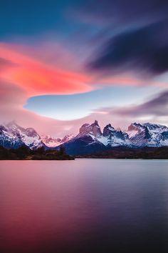 //Cuernos. Parque Nacional Torres Del Paine, Chile//