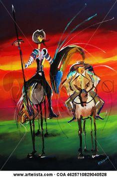 Artwork Prints, Canvas Prints, Man Of La Mancha, Dom Quixote, Artist Profile, Old Wood, Buy Prints, Acrylic Painting Canvas, Old Friends