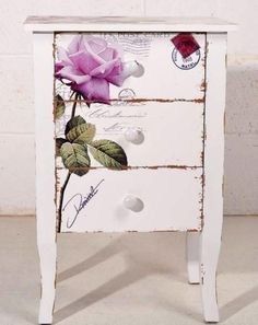 39 Furniture Decoupage ideas - Give old things a second life | My desired home