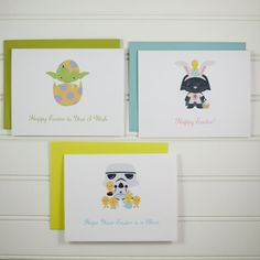 Yoda Easter Card Star Wars Card Easter Card for Star by PlayaPaper