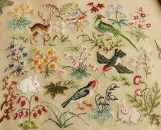 """day-and-moonlightdreaming: """"Sweet embroidery. """""""