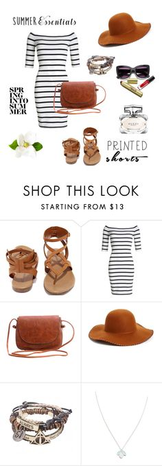 """""""Untitled #25"""" by beleamina ❤ liked on Polyvore featuring Breckelle's, Superdry, Phase 3, Wolf & Moon and Gucci"""