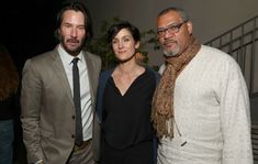 'The Matrix' stars Keanu Reeves, Carrie-Anne Moss and Laurence Fishburne