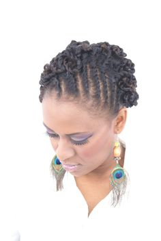 African American Updo Hairstyles   African American Wedding Hairstyles ...