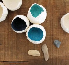 DIY paper clay barnacle tutorial -- from Design*Sponge, here: http://www.designsponge.com/2012/07/diy-project-paper-clay-barnacles.html#