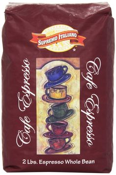 Supremo Italiano Cafe Expresso Whole Bean Coffee 2 Lb (2 Pack) *** Check this awesome product by going to the link at the image.