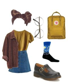 """Arty"" by yanni-loenders on Polyvore featuring mode, HOT SOX, Fjällräven, Schumacher, ZeroUV en Dr. Martens"