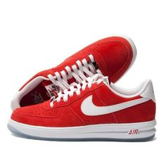 quality design 046a4 ab12d Nike Lunar Force 1 Low Shoes Red White 654256 601 - Air Force 1 Jordan Shoes