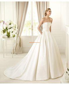 Wunderschön Elegant Brautkleider aus Satin