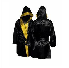 Bata de boxeo con Capucha - €42.00  http://soloartesmarciales.com  #Taekwondo #SacosdeBoxeo #DobokDaedo #DobokAdidas #Hapkido #Aikido #BJJ #Karate #Judo #Boxeo #Ninjutsu #CletoReyes #Rudeboys #Mizuno #Sambo
