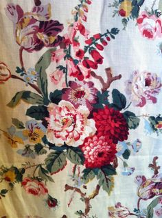 Eloise linen in Rosa, Watts of Westminster