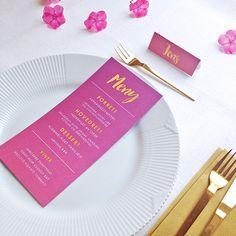MENY i design 'Rosa, takk' // ELM DESIGNKOLLEKTIV 2016