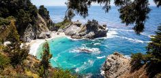 Julia Pfeiffer Burns State Park in Big Sur won't cost you much (30 big ones a night), but act quick because it books up fast. The secluded, tourist-free campground features redwood trees, an 80-foot waterfall and a 1,680-acre underwater reserve, where you just might spot a sea lion, seal or otter.