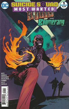 Suicide Squad Most Wanted: El Diablo # 1 DC Comics ( 2016 )