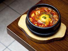 Koba, 11 Rathbone Street. Korean food