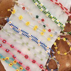 Bead Jewellery, Beaded Jewelry, Beaded Bracelets, Summer Jewelry, Diy Necklace, Summer Necklace, Cute Jewelry, Trendy Jewelry, Bold Jewelry