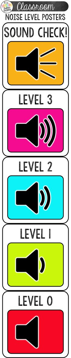 9 Best classroom: noise levels images in 2013   Classroom ...