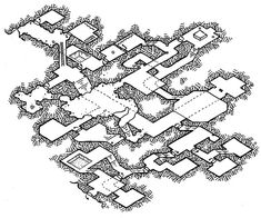 [Friday Map] Isometric Dungeon Experiment #4