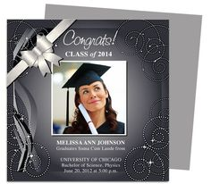 Shiloh Graduation Announcement Template