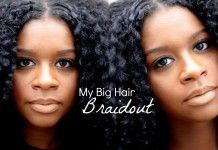 A Braidout Might Sound Mundane, But Not When You Use Great Products To Make It Pop & Shine