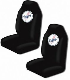 Los Angeles Dodgers Auto Seat Cover Universal Fit Set of Two Northwest
