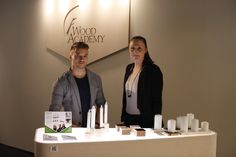 Domino. candleholders in Imm Gologne design fair January 2014.
